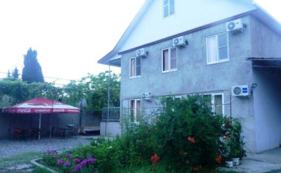 Частный сектор Гячрыпш (Леселидзе) на улице Добровольцев дом № 20